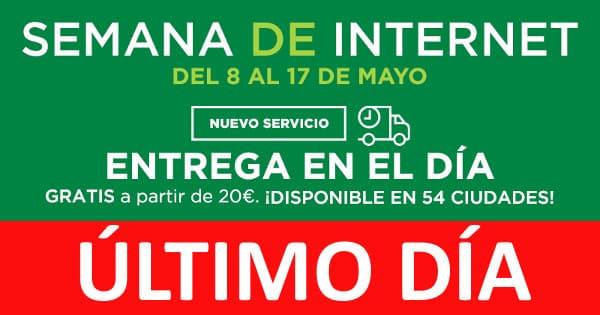 Semana de Internet El Corte Inglés, ofertas El Corte Inglés, chollo