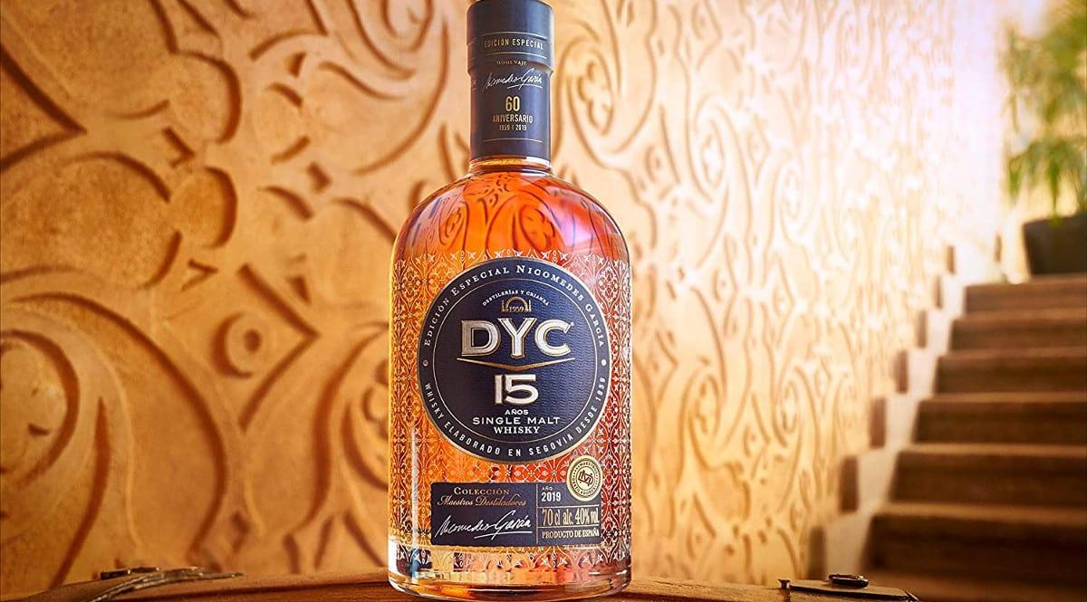 Whisky DYC 15 años Edición Especial 60 años barato. Ofertas en whisky, whisky barato, chollo