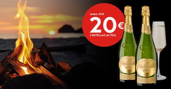 2 botellas de Jaume SerraD.O. Cava Gran Reserva barato, cava barato, chollo