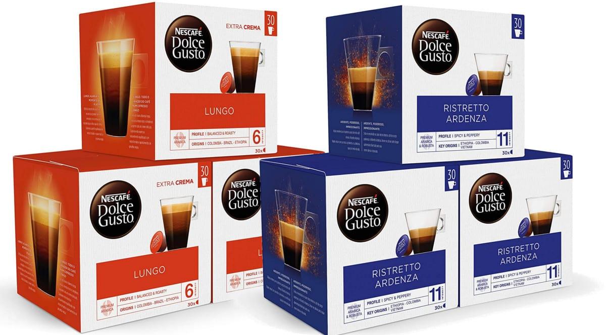 90 cápsulas de café Dolce Gusto baratas. Ofertas en café, café barato, chollo