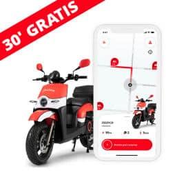 Cupón descuento exclusivo en ACCIONA Motosharing, alquiler de motos barato