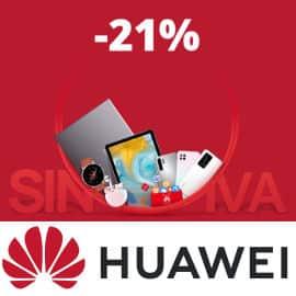Días sin IVA en Huawei, teléfonos móviles baratos, ordenadores baratos