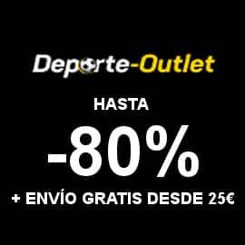 Descuentos en Deportes Oulet, ropa deportiva y calzado barato, ofertas deportes