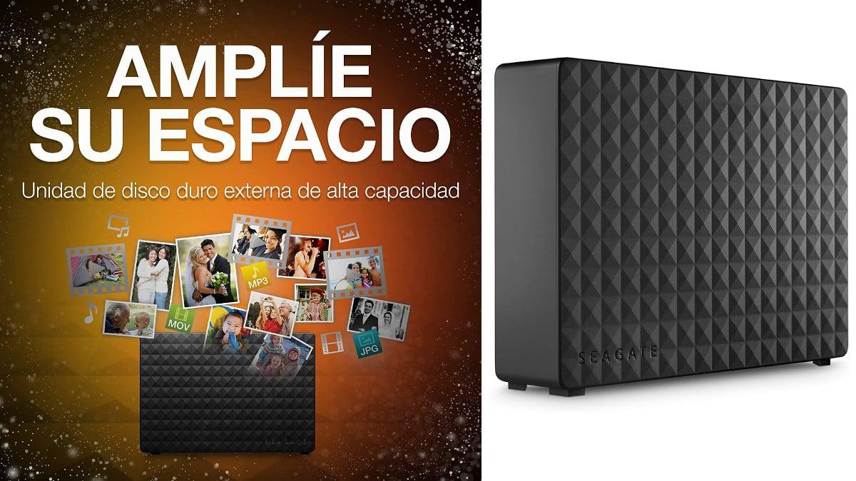 Disco duro Seagate de 6TB barato, discos duros externos baratos, chollo