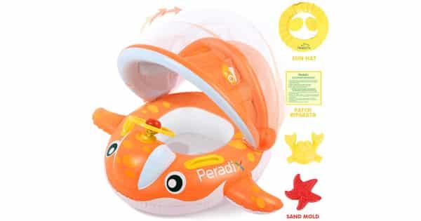 Flotador para bebés de 6 meses a 3 años barato, flotadores baratos, chollo