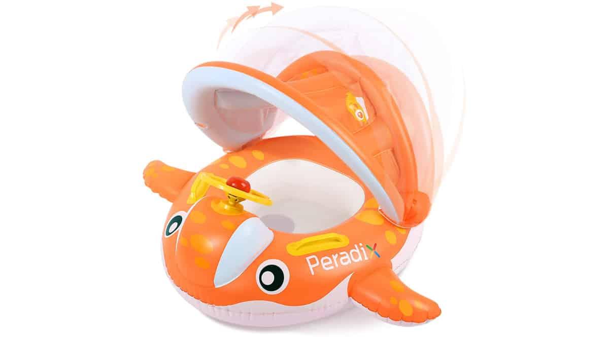 Flotador para niños y bebés Peradix barato, flotadores baratos, ofertas para niños, chollo