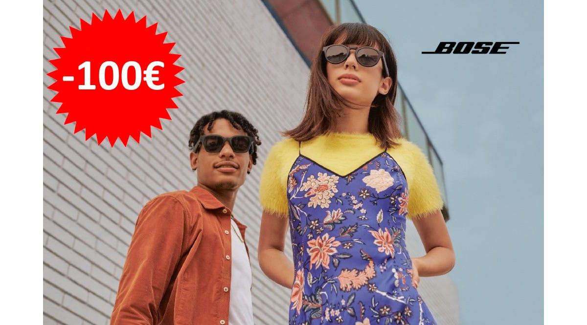 ¡Precio mínimo histórico! Gafas de sol con altavoces Bose Frames sólo 129 euros. Te ahorras 100 euros. 2 modelos distintos.