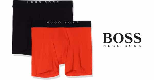 Pack de 2 bóxers Hugo Boss Brief baratos, ropa interior barata, ofertas en ropa interior chollo