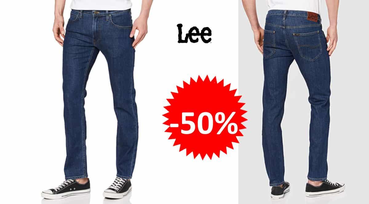 Pantalón vaquero Lee Daren Zip barato, pantalones vaqueros de marca baratos, ofertas en ropa, chollo