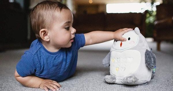 Peluche Tommee Tippee Grofriend con sensor de llanto barato, duermebebés baratos, ofertas productos para bebés, chollo