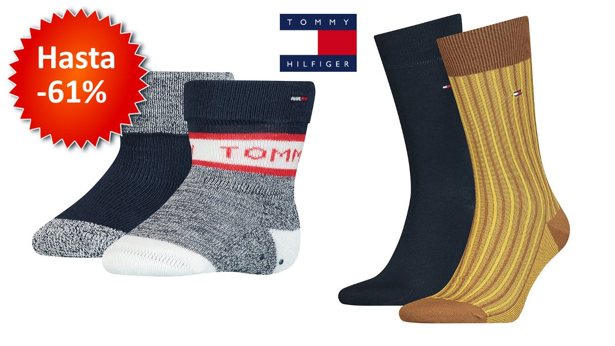 Calcetines Tommy Hilfiger baratos, calcetines baratos, chollo