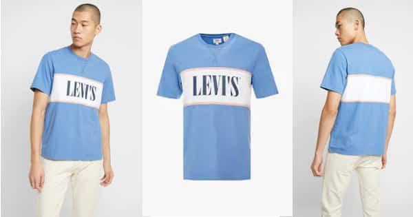 Camiseta Levi's Authentic Colorblock barata, camisetas baratas, ofertas en ropa, chollo