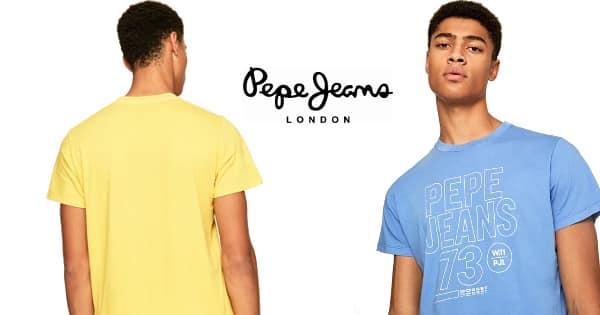 Camiseta Pepe Jeans Skyler barata, ropa de marca barata, ofertas en camisetas chollo