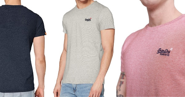 Camiseta Superdry Vintage Orange Label barata, ropa de marca barata, ofertas en camisetas chollo