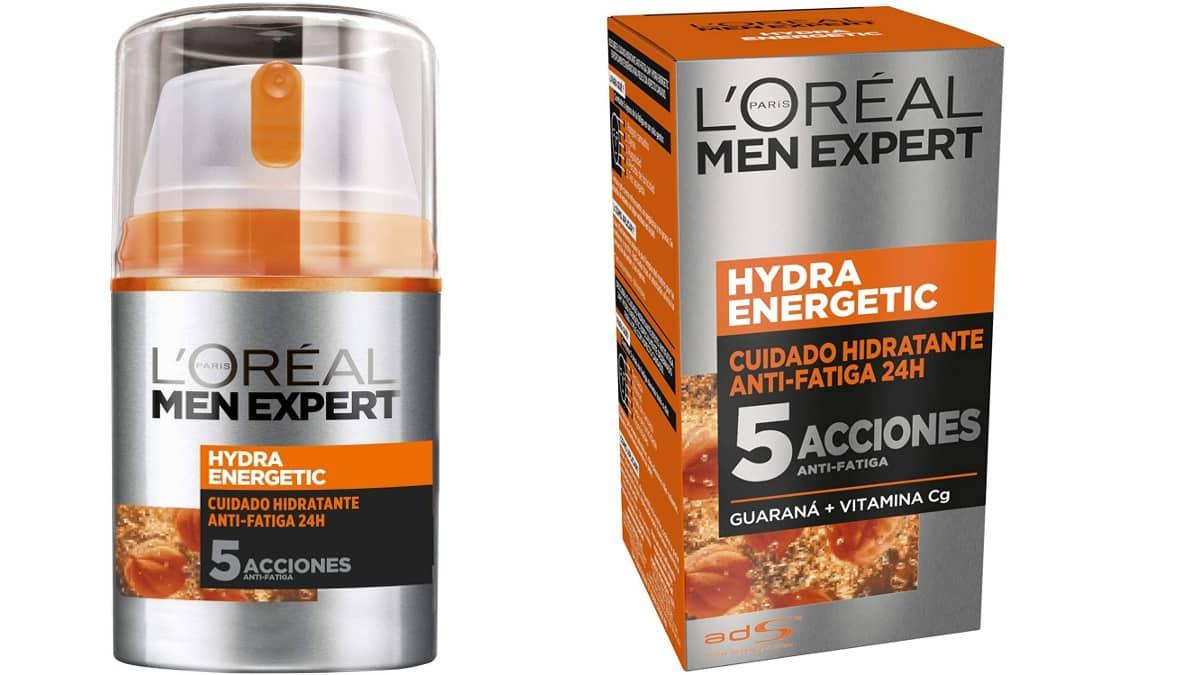 Crema Hidratante Anti-Fatiga 24h Hydra Energetic L'Oréal Men Expert barata, cremas baratas, ofertas supermercado, chollo