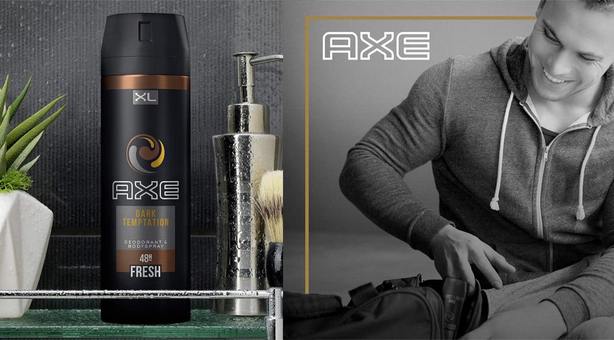 Desodorantes Axe Dark Temptation baratos. Ofertas en supermercado, chollo