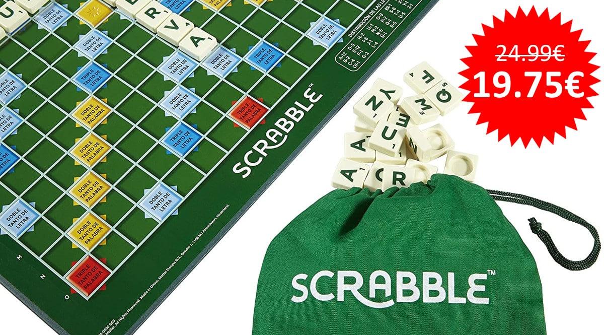 ¡¡Chollo!! Juego de mesa Scrabble Original en español sólo 19.75 euros.