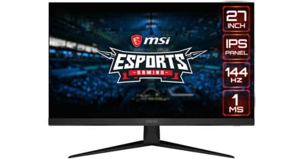 Monitor de 27 pulgadas MSI Optix G271. Ofertas en monitores, monitores baratos, chollo