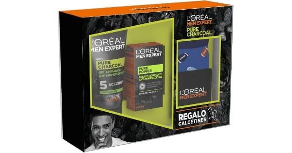Pack LOréal Men Expert Pure Charcoal barato, productos de belleza baratos, chollo