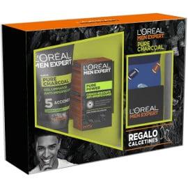 Pack LOréal Men Expert Pure Charcoal barato, productos de belleza baratos