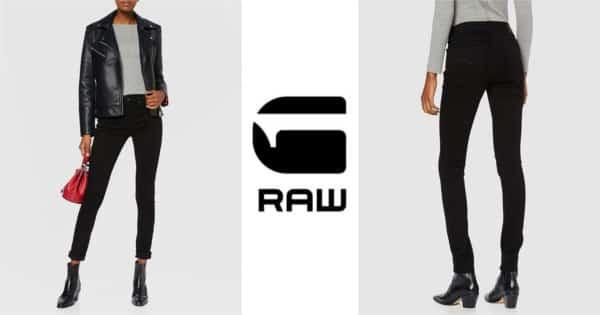 Pantalones vaqueros G-Star 3301 High Waist Skinny para mujer baratos. Ofertas en ropa de marca, ropa de marca barata, chollo