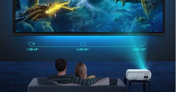 Proyector TOPTRO Full HD barato. Ofertas en proyectores, proyectores baratos, chollo