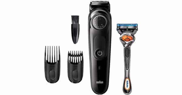 Recortadora de barba BT5242 y maquinilla Gillette Fusion5 ProGlide barata, ofertas afeitadoras, chollo