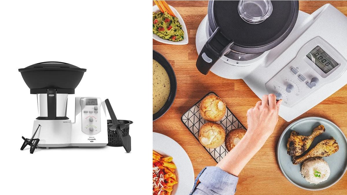 Robot de cocina Mycook one, robots de cocina de marca baratos, ofertas hogar, chollo