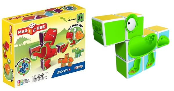 Set Geomag Magicube Dinosaurs barato, juguetes baratos, ofertas para niños chollo
