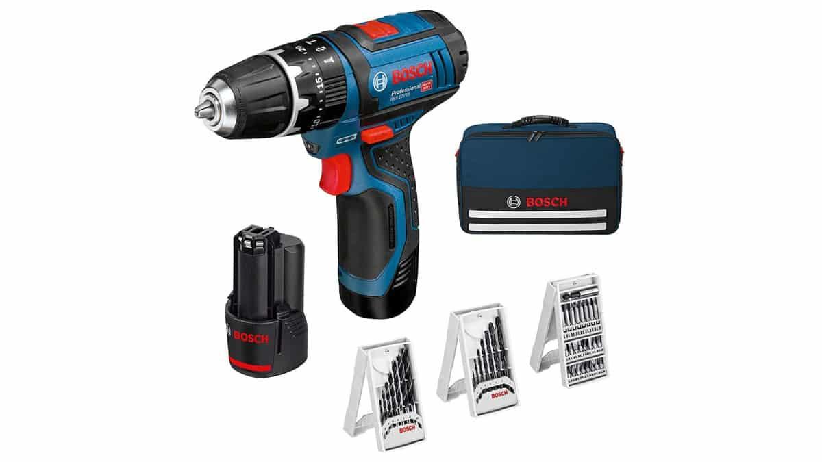 Taladro percutor Bosch Professional GSB 12V barato, taladros baratos, herramientas baratas, chollo