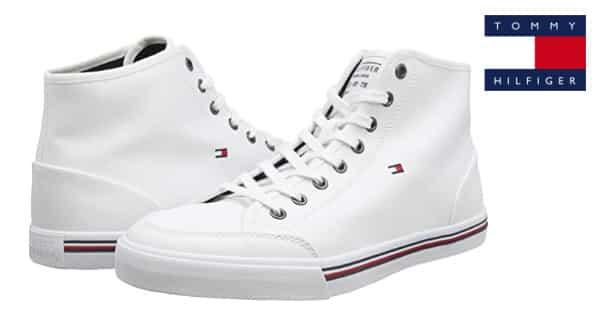 Zapatillas para hombre Tommy Hilfiger Core Corporate High baratas, zapatillas de marca baratas, ofertas en calzado, chollo