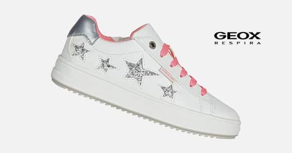 Zapatillas para niñas Geox J Rebecca Girl B baratas, zapatillas baratas, chollo