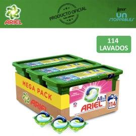 ¡¡Chollo!! 114 cápsulas de detergente Ariel 3 en 1 PODS sólo 26 euros.