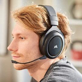 Auriculares gaming inalámbricos Corsair HS70 Pro baratos, auriculares baratos
