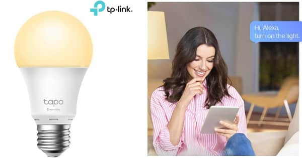 Bombilla inteligente WiFi TP-Link Tapo L510E barata, bombillas baratas, chollo