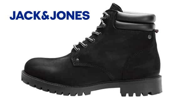 Botas Jfwstoke Nubuck de Jack & Jones baratas, botas para hombre baratas, ofertas en calzado, chollo