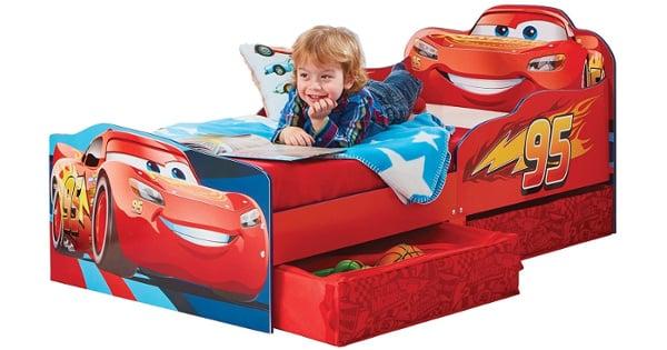 Cama Infantil de madera Hello Home Cars barata, camas para niños baratas, ofertas muebles, chollo