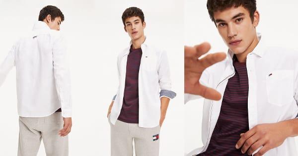 Camisa Tommy Hilfiger Original barata, ropa de marca barata, ofertas en camisas chollo