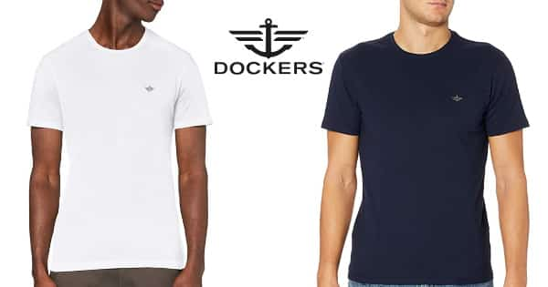 Camiseta Dockers Pacific barata, ropa de marca barata, ofertas en camisetas chollo
