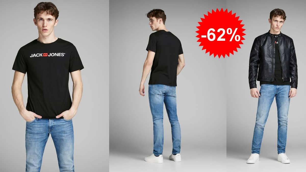 Camiseta Jack & Jones Jjecorp barata, camisetas baratas, ofertas en ropa de marca, chollo