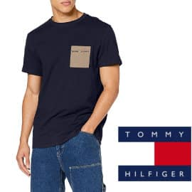 Camiseta Tommy Hilfiger TJM Contrast Pocket barata, camisetas baratas, ofertas en ropa