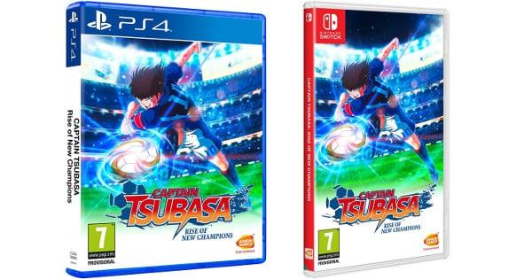 Captain Tsubasa para PS4 y Nintendo Switch, videojuegos baratos, chollo