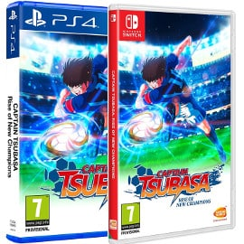 Captain Tsubasa para PS4 y Nintendo Switch, videojuegos baratos