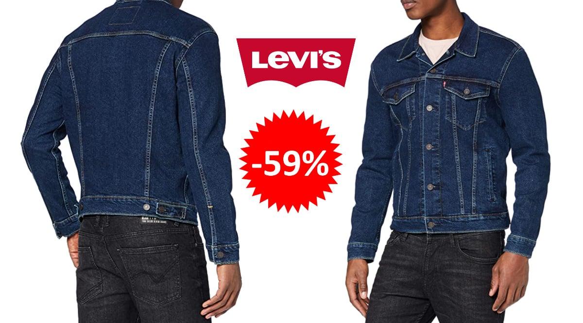 Cazadora vaquera Levi's The Trucker barata, ropa de marca barata, ofertas en chaquetas chollo