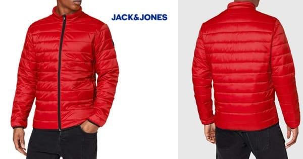 Chaqueta acolchada Jack & Jones Jjeeric Puffer barata, cazadoras baratas, ofertas en ropa de marca, chollo