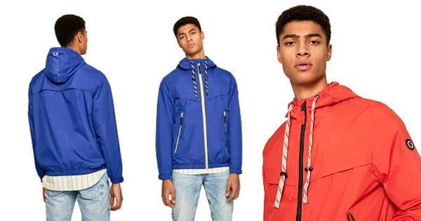 Chaqueta cortavientos Pepe Jeans David barata, ropa de marca barata, ofertas en chaquetas chollo