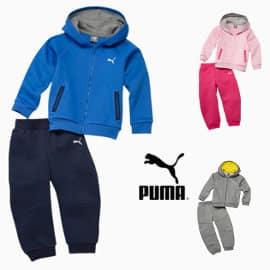 Chándal para niños Puma Hooded Babies Jogger barato, ropa para niño barata, ofertas en ropa de marca