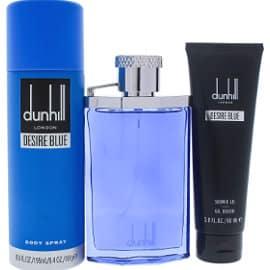 Colonia para hombre Dunhill Desire Blue en set de regalo barata, colonias baratas, ofertas belleza