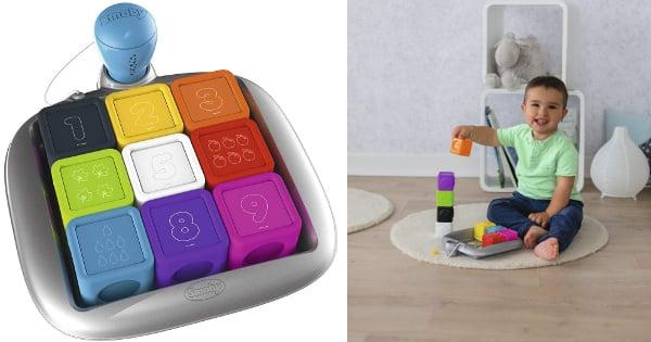 Cubos electrónicos educativos Smoby baratos, juguetes baratos, ofertas para niños, chollo