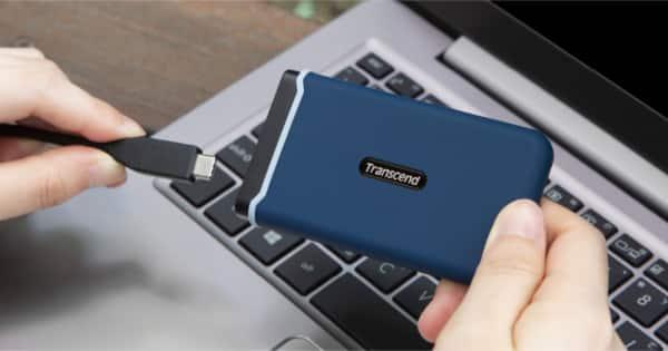 Disco SSD externo Trascend ESD350C de 480GB barato. Ofertas en discos SSD, discos SSD baratos, chollo